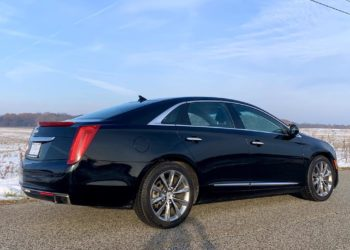 Black Cadillac XTS